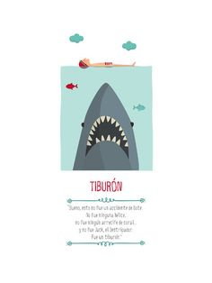 Lámina Tutticonfetti - Tiburón
