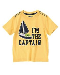 I'm The Captain Frog Tee. Think I could get Captain Boots to wear this? ;)