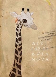 giraffe / richard wilkinson