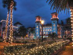 Lightner Museum, Nights of Lights, St. Augustine by Krazy Diamond, via Flickr
