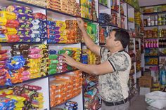 it is a revolutionary idea of standardization, digitization & centralization to traditional Grocery system. Bakery Shop Design, Store Layout, Shopping Near Me, King, Interior Design, Gallery, Sari, Shelves, Painting