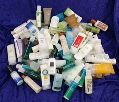 Travel Soap Shampoo Conditioner Lotion etc Misc Lot 100+ Bottles/Tubes 100+ Soap #Various