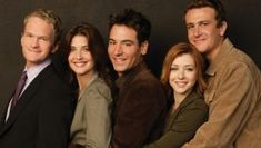 People How I Met Your Mother Alyson Hannigan Neil Patrick Harris Cobie Smulders Jason Segel Josh Radnor TV