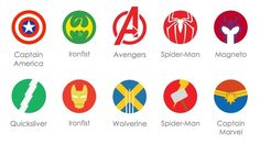 Marvel Icons Sketch - ALL of these are SPOT ON!!