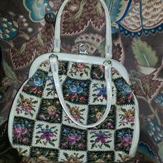 1960-70 Vintage Needlepoint Bag Today