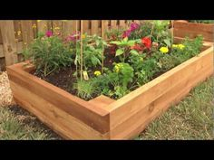 How To Build A Raised Garden Bed. Building raised garden beds is a simple project and not very hard to build.   You can build your raised bed garden from almost anything including wood, concrete blocks, or stone.