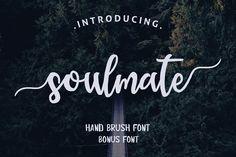 Soulmate Typeface + Bonus Font  by sizimon on @creativemarket