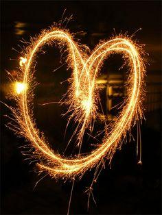 Sparkler Heart.