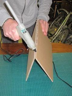 Comment assembler 2 plaques de carton