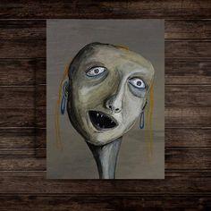 Image result for ugly portraits fine art