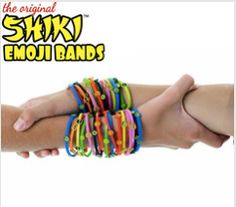 Smiley Face Shiki Emoji Bands: Normally reserved for Best Friends – (but if it isn't your best friend). Sunglasses Shiki Emoji Bands: You share the same personality with a Close Friends. https://shikibands.com #Shiki #Emoji #Bands #Friendship #Bracelets #Collect #StackEm #Fashion #Multiple #Colors #BestFriend #Wednesday #Humpday
