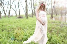 Goddess Rustic Maternity Session