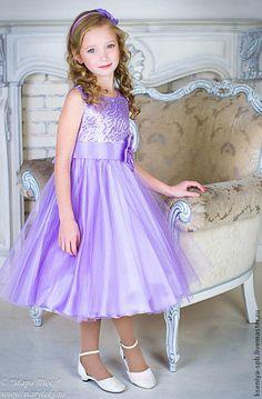Одежда для девочек, ручной работы. Ярмарка Мастеров - ручная работа Платье…