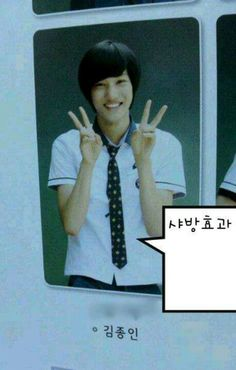 Pre debut Kai, he was, he is, he will be perfect forever