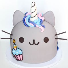 pusheen birthday cake best 25 pusheen birthday ideas on pinterest ...