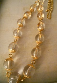 Classic Joan Rivers Necklace  Beautiful Clear by RosieandZoe, $45.00