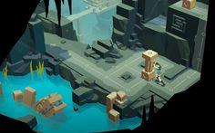 ターン制パズル『Lara Croft GO』が国内でiOS/Android向けに配信開始―謎を解き遺跡の奥地へと進め!   Game*Spark - 国内・海外ゲーム情報サイト