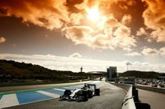 Nico Rosberg, Mercedes AMG F1 W05, testing at Jerez, 2014