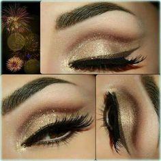 Firework on eyes