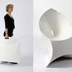 "Seduta Poltrona Sedia ""Flux Chair"" Flux Forniture | B Design"