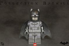 Lego Batman custom Arkham origins custom decal