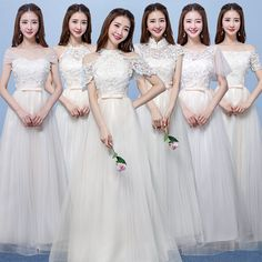 Affordable Champagne Pierced Bridesmaid Dresses 2018 A-Line / Princess Appliques Flower Bow Sash Floor-Length / Long Ruffle Backless Wedding Party Dresses - Wedding ideas - Beach Wedding Bridesmaid Dresses, Wedding Dresses For Girls, Backless Wedding, Wedding Party Dresses, Maroon Prom Dress, Engagement Dresses, Affordable Dresses, Appliques, Champagne