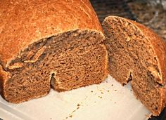 My absolute favorite recipe. This recipe produces a soft, full-loaf of bread, with a nice crust every time. Easy and delicious. Rye Bread Recipes, Bread Machine Recipes, Muffin Recipes, Easy Recipes, Dark Rye Bread Machine Recipe, Cast Iron Bread, Lemon Bread, Yeast Rolls, Our Daily Bread
