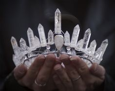 Because who wouldn't want a crown made out of quartz!