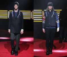 Whiz Limited 2013-2014 Fall Winter Mens Runway Collection - Mercedes-Benz Fashion Week Tokyo - Japan Fashion Week: Designer Denim Jeans Fashion: Season Collections, Runways, Lookbooks and Linesheets