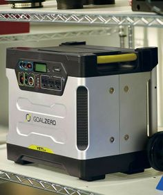 Make sure you're prepared for the next winter storm with a solar power generator.