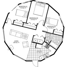 Round house plans on pinterest cob house plans dome Circle house plans