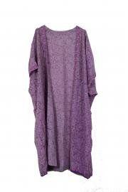 Sari Kimono Throw Lavender
