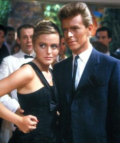 David Bowie and Patsy Kensit in Absolute Beginners in 1986