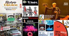 Agenda | Ferias de antigüedades y coche clásico + teatro + títeres + músicas + solidaridad