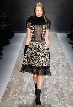 Leopard Print - Blugirl Fall Winter 2013/2014 Fashion Show Collection #mfw