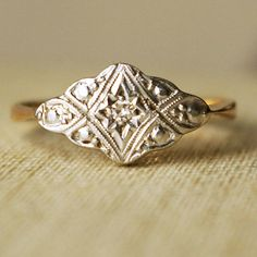 #Vintage #Engagement #Ring