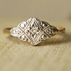 vintage ring.