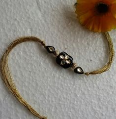 Rakhi black and gold #FleAffair