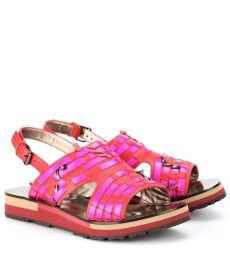 Lanvin - Leather sandals  -