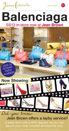 JUST LANDED: Balenciaga, Charlotte Olympia and more styles from Christian Louboutin!
