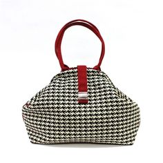 Atenti Betty Checkmate Handbag at Artfully Adorned...Traditional with a pop!