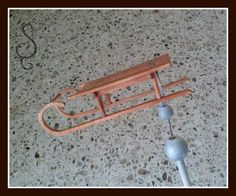Here's a tutorial on making a cute little wood sled in miniature. …