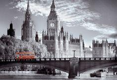 "Puzzle EDUCA ""Autobús londinense"", 1.000 piezas."
