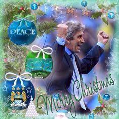 No13: Pellegrini MCFC Christmas Time wallpaper #mcfc #manchester #city