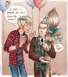 Draco and Teddy (part 3) by CaptBexx