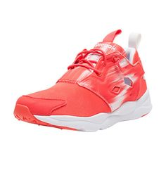 ab224bc48bb  REEBOK  Furylite contemporary sneaker  Lace up closure  Low top women s  sneaker  Cushioned inner sole for comfort and performance