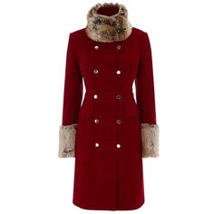 Designer Clothes, Shoes & Bags for Women Military Style Coats, Military Parka, Red Parka, Parka Coat, Winter Coats Women, Coats For Women, Sheepskin Coat, Keep Warm, Military Fashion