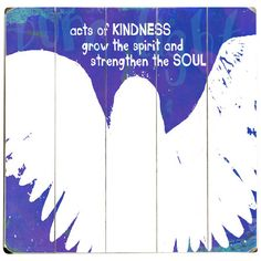 Acts of Kindness Wall Decor at Joss & Main