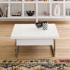 Tavolino da salotto con panca integrata Markus di Ozzio Design ...