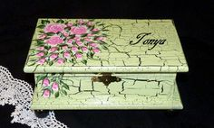Elegant Keepsake Box Wood Jewelry Box Jewelry by EssenceOfTheSouth, $58.50